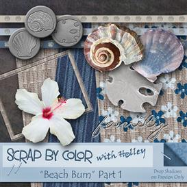 Beach Bum Part 1 | Other Files | Scrapbooking