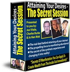 attaining your desires ebook & audio the secret session joe vitale