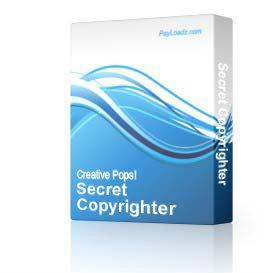 Secret Copyrighter | Software | Business | Other