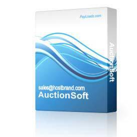 AuctionSoft   Software   Internet