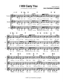 I Will Carry You - sheet music, SSA | Other Files | Documents and Forms