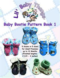 baby bootie pattern book