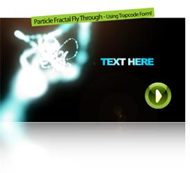 Particle Fractal Fly Through | Software | Software Templates