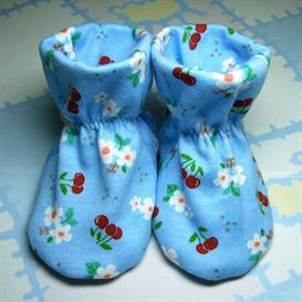 willow river baby bootie pattern 1