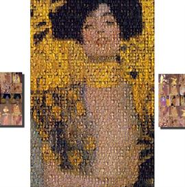 Photomosaic Klimt XXXL | Other Files | Photography and Images