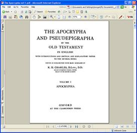 the old testament pseudepigrapha volume 1 pdf
