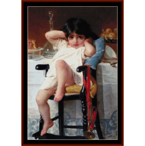 sugar and spice  - emile munier cross stitch pattern by cross stitch collectibles