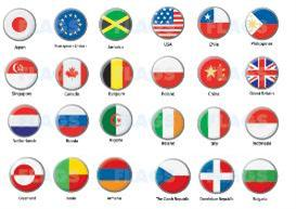 Flag Icons 24pcs | Other Files | Stock Art