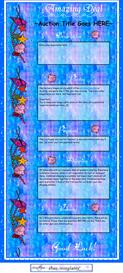 Nautical Water Seashell Ebay Template by SCTRADEKAT | Other Files | Patterns and Templates
