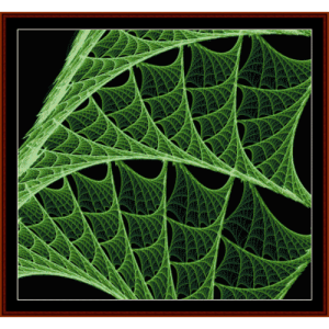 Fractal 43 cross stitch pattern by Cross Stitch Collectibles | Crafting | Cross-Stitch | Wall Hangings