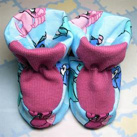 asparas dreams baby bootie pattern 2