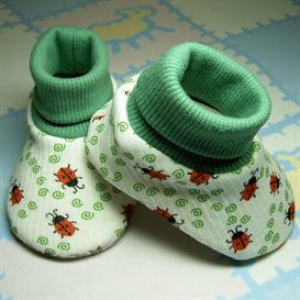 sweetgrass meadow baby bootie pattern 5