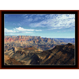 Grand Canyon II cross stitch pattern by Cross Stitch Collectibles | Crafting | Cross-Stitch | Wall Hangings