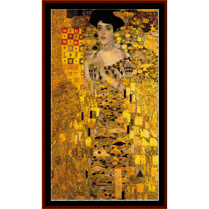 Adele Bloch Bauer - Klimt cross stitch pattern by Cross Stitch Collectibles | Crafting | Cross-Stitch | Wall Hangings