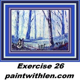 26 paint with knife