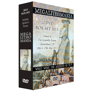 2013 megalithomania conference box-set + interviews mp4s