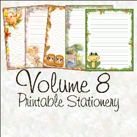 printable stationary designs vol 8 made by sophia delve