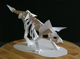 Triceratops Skeleton - EasyCutPopup | eBooks | Arts and Crafts