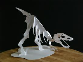 Raptor Skeleton- EasyCutPopup | eBooks | Arts and Crafts