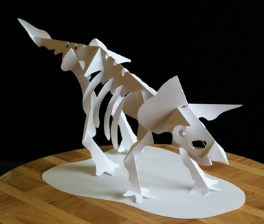 First Additional product image for - Jurassic Skeleton Series - EasyCutPopup