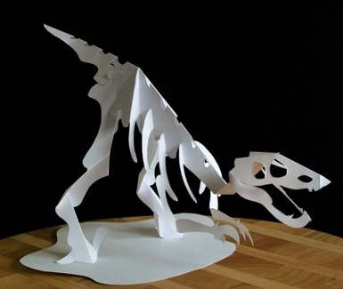 Second Additional product image for - Jurassic Skeleton Series - EasyCutPopup
