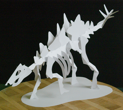 First Additional product image for - Stegosaurus Set - EasyCutPopup