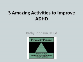 free webinar: 3 amazing activities to improve adhd