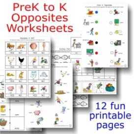 math worksheet : children s opposites worksheet  k5 worksheets : Opposite Worksheets For Kindergarten