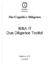 m&a it due diligence toolkit