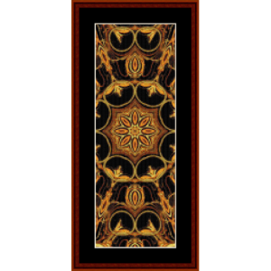 Fractal 402 Bookmark cross stitch pattern by Cross Stitch Collectibles | Crafting | Cross-Stitch | Other