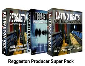 reggaeton producer super pack