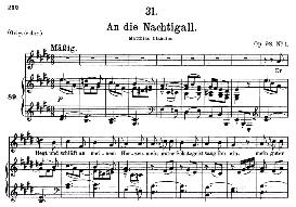 An die Nachtigall D.497, Medium Voice in E Major, F. Schubert (Pet.) | eBooks | Sheet Music