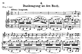 danksagung an den bach, d.795-4, medium voice in f major, f. schubert (die schöne mullerin), c.f. peters