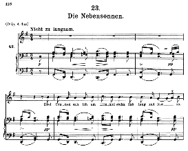 Die Nebensonnen D.911-23, Medium Voice in G Major, F. Schubert (Winterreise) Pet. | eBooks | Sheet Music