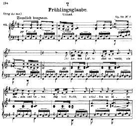 Frühlingsglaube D.686, Medium Voice in G Major, F. Schubert, C.F. Peters | eBooks | Sheet Music