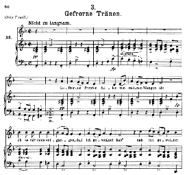 gefrorne tränen d.911-3, medium voice in d minor, f. schubert (winterreise) pet.