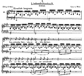 Liebesbotschaft, D.957-1 in E Major, Medium Voice. F. Schubert (Schwanengesang). | eBooks | Sheet Music