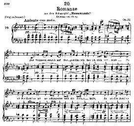 Romanze D.797, Medium Voice in F Minor, F. Schubert (Aus Rosamunde), C.F. Peters | eBooks | Sheet Music