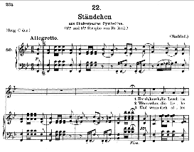 Ständchen D.889 Hark, hark, the lark  in B Flat Major, F. Schubert (Pet.) | eBooks | Sheet Music