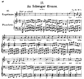 An schwager Chronos D.369, Medium Voice in D Minor, F. Schubert., Pet. | eBooks | Sheet Music