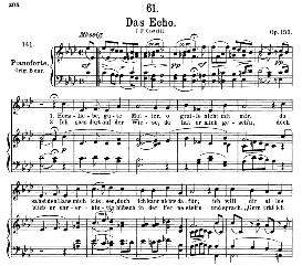 Das Echo D.990, Medium Voice in A Flat Major, F. Schubert, C.F. Peters | eBooks | Sheet Music