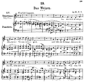 Das Weinen D.926, Medium Voice in C Major, F. Schubert (Pet.) | eBooks | Sheet Music