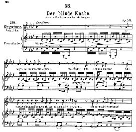 Der blinde Knabe D.833, Medium Voice in A Flat Major, F. Schubert, C.F. Peters | eBooks | Sheet Music