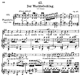 Der Wachtelschlag D.742, Medium Voice in G Major, F. Schubert, (Pet.) | eBooks | Sheet Music
