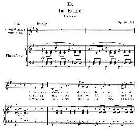 Im Haine D.737, Medium Voice in G Major, F. Schubert, C.F. Peters | eBooks | Sheet Music