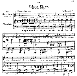 Kolma's Klage D.217, Medium Voice in A Minor, F. Schubert (Pet.) | eBooks | Sheet Music