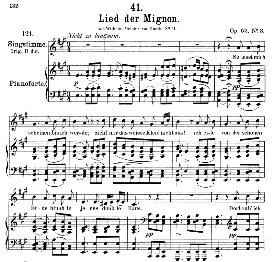 Lied der Mignon D.877-3 So lasst mich scheinen, Medium Voice in A Major. F. Schubert (Pet.) | eBooks | Sheet Music