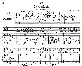 Nachstück D.672, Medium Voice in C Minor, F. Schubert (Pet.) | eBooks | Sheet Music