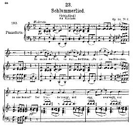Schlaflied (Schlummerlied) D.527, Medium Voice in F Major, F. Schubert (Pet.) | eBooks | Sheet Music