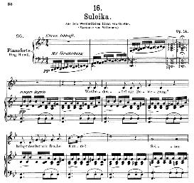 Suleika I, D.720, Medium Voice in G Minor, F. Schubert (Pet.) | eBooks | Sheet Music